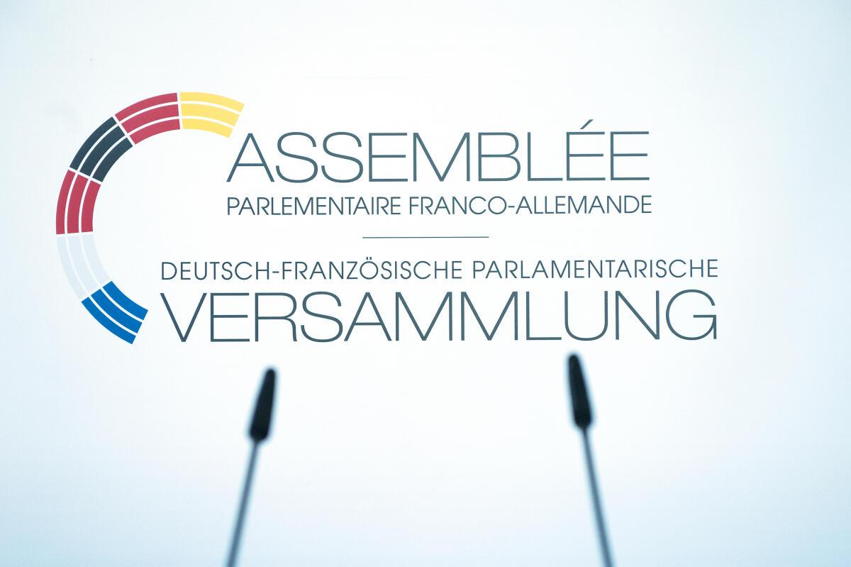 Pressewand mit Logo der DFPV